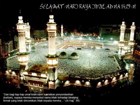 Selamat Idul Adha 1429 H